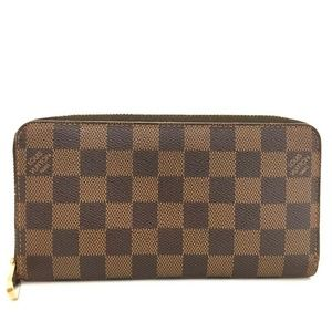 100% Auth Louis Vuitton  Damier Zippy Wallet